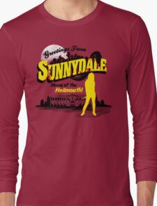 Greetings from Sunnydale  Long Sleeve T-Shirt