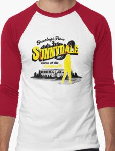 Greetings from Sunnydale  Men's Baseball ¾ T-Shirt