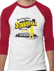 Greetings from Sunnydale  Men's Baseball ¾ T-Shirt