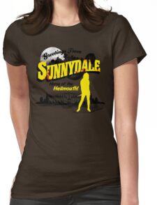 Greetings from Sunnydale  Womens Fitted T-Shirt