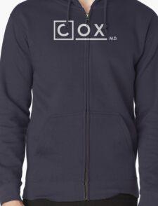 Dr Perry Cox x House M.D. (Scrubs) Zipped Hoodie