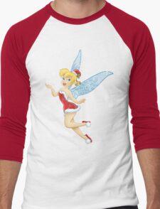 Tinkerbell - Happy Holidays Men's Baseball ¾ T-Shirt