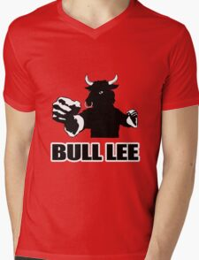 Bull Lee Mens V-Neck T-Shirt