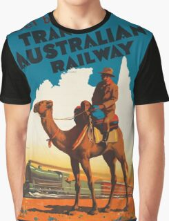 Vintage poster - Australia Graphic T-Shirt