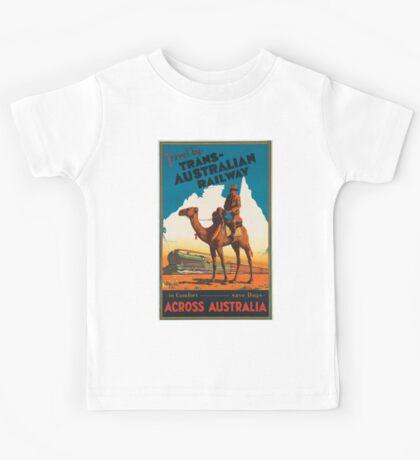 Vintage poster - Australia Kids Tee