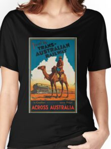 Vintage poster - Australia Women's Relaxed Fit T-Shirt