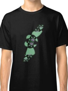 Geek style flying fractal pattern design I Classic T-Shirt