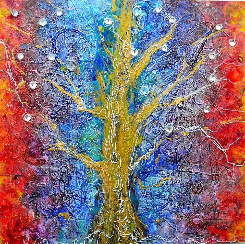 Albedo  Tree of Life 8 by Regina Valluzzi