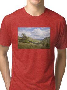 Glengesh Pass, Co. Donegal Tri-blend T-Shirt