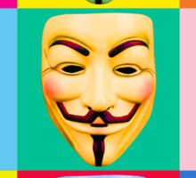 GUY FAWKES PROTEST Sticker