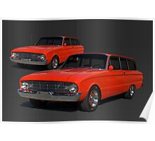1960 Ford Falcon Station Wagon Poster