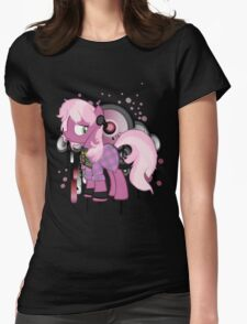 punk cheerilee  Womens Fitted T-Shirt