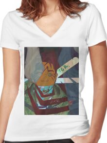 Safari Women's Fitted V-Neck T-Shirt