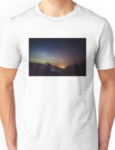 Aurora over Glengesh, Donegal Unisex T-Shirt