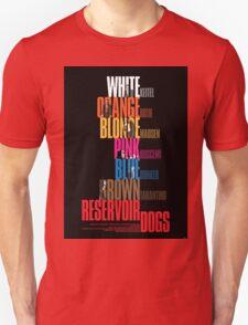 Reservoir Dogs - Movie Poster T-Shirt