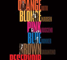 Reservoir Dogs - Movie Poster by 547Design