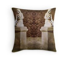 Weeping Maidens Throw Pillow