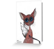 FAIRY BAT Greeting Card