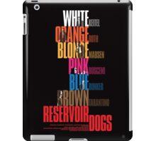 Reservoir Dogs - Movie Poster iPad Case/Skin