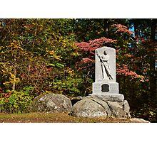 Gettysburg National Park - Michigan Memorial Photographic Print