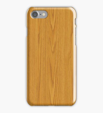 Light Wood iPhone Case/Skin