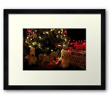 MERRY CHRISTMAS.....(photo by Marie Will) Framed Print