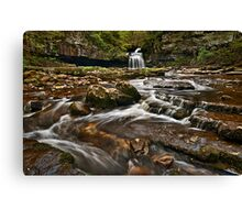 Couldron Falls, West Burton Canvas Print