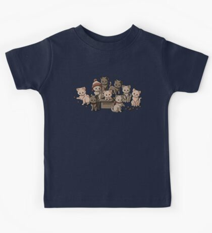 We Aim to Misbehave Kids Tee