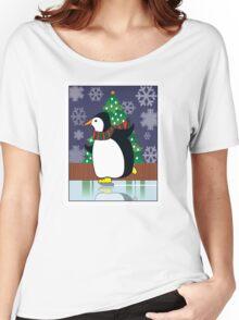 Penguin Skate Women's Relaxed Fit T-Shirt