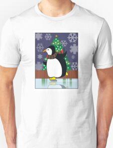 Penguin Skate Unisex T-Shirt