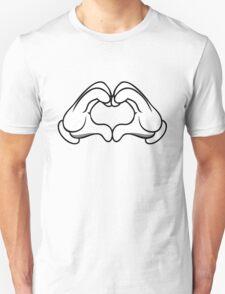 Hearts beat Clubs Unisex T-Shirt