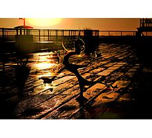 Dance Dance Dude Photographic Print