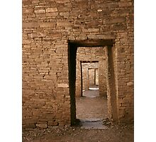 Doorways to the Past Photographic Print