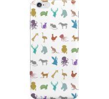 Glitter Animals iPhone Case/Skin