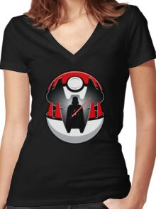 Dark Side, I Choose You! Women's Fitted V-Neck T-Shirt