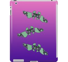 Geek style flying fractals pattern design V iPad Case/Skin