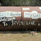 Freethinker's Irvinebank Sign by Vanessa Barklay