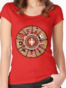 Cathedral of the Serenity Women's Fitted Scoop T-Shirt