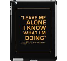 Kimi Raikkonen  - Radio Tribute 1 iPad Case/Skin