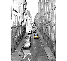 Yellow Car, Saint-Malo, Brittany Photographic Print
