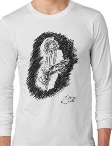 sir Jimmy Page Long Sleeve T-Shirt