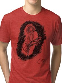 sir Jimmy Page Tri-blend T-Shirt