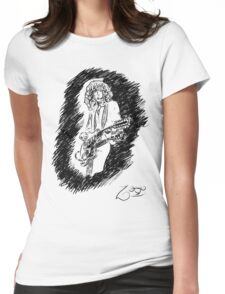 sir Jimmy Page Womens Fitted T-Shirt