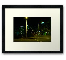 Downtown Los Angeles Framed Print