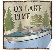 On Lake Time 1 Poster