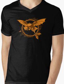 Dragon Games Mens V-Neck T-Shirt