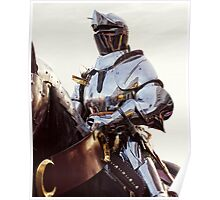 Knight In Shining Armour Poster