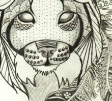 Wild Bobcat Sticker