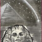 Sphinx and Pyramid I by Origa