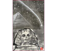 Sphinx and Pyramid I Photographic Print